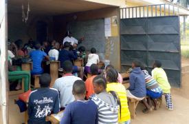 Scuola a Balikumbat