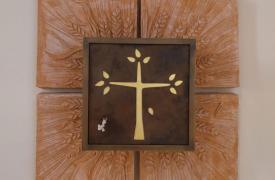 tabernacolo della chiesa del monastero delle Carmelitane di Monte S. Quirico (Lucca)