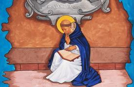 Dipinto di San Dominico di Arben Nipolli